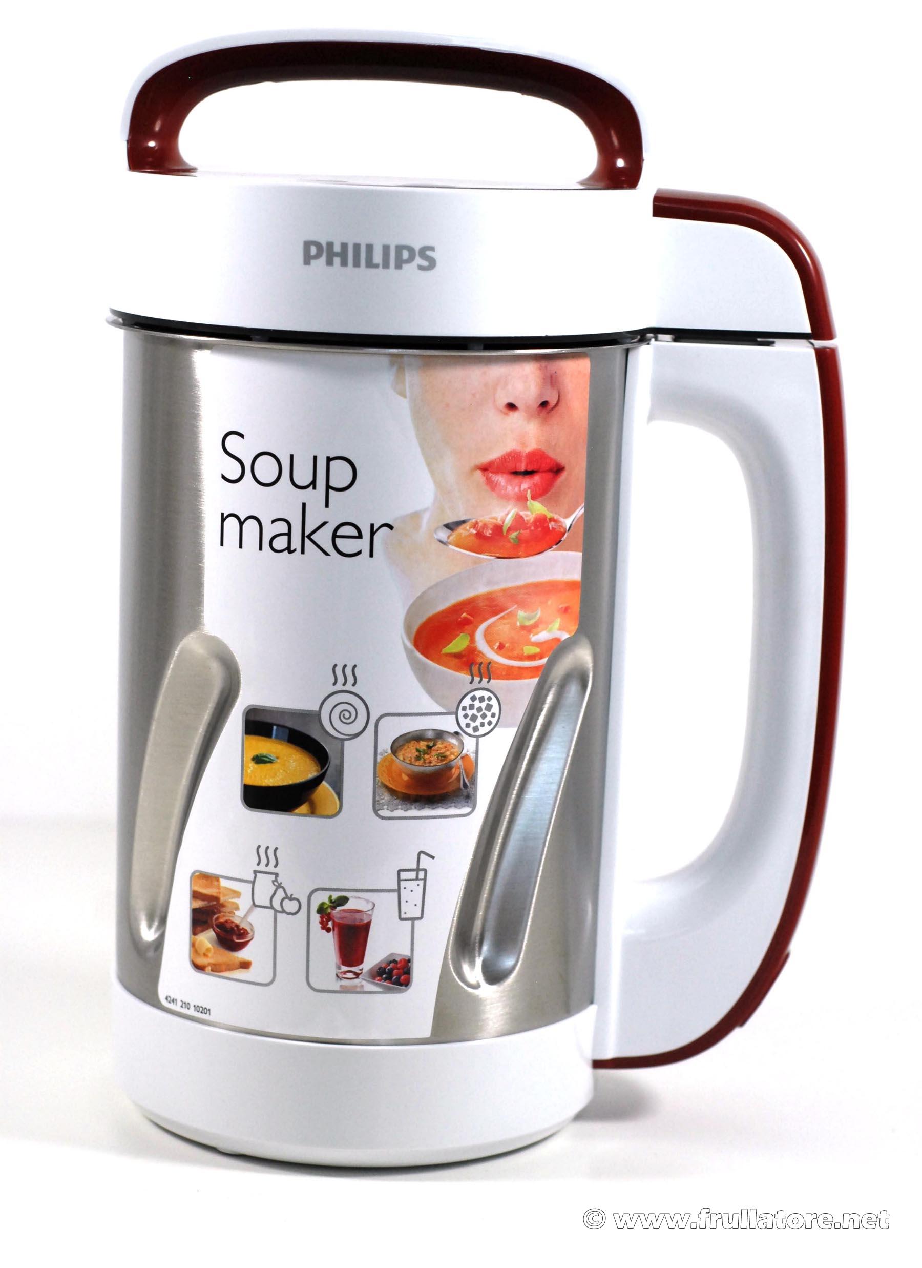 Philips hr2200 81 leggi la recensione e risparmia online - Soup maker philips video ...
